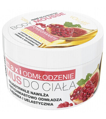 Vollare Body Mousse Maxi Rejuvenation with Pomegranate and Fig Extract & Argan Oil