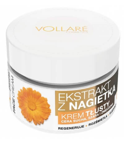 Vollare Face Cream Rich with Calendula Extract