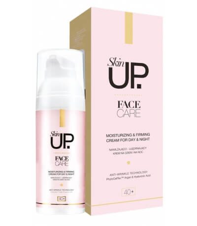 Skin Up Face Care Moisturizing & Firming Cream for Day and Night 40+