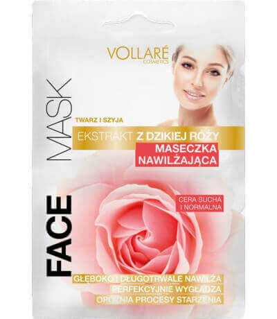 Moistening Mask with Wild Rose Extract