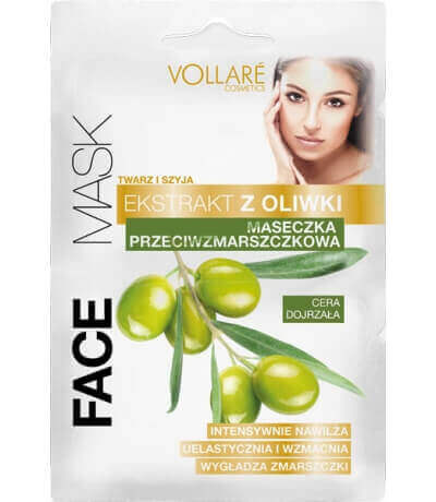 Olive Face Mask Anti-wrinkle and Regenerative