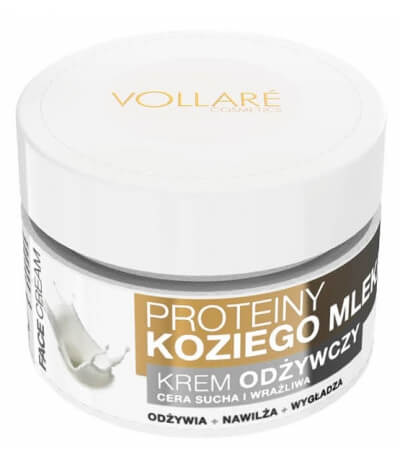 Vollare Face Cream Nourishing with Goat's Milk Proteins