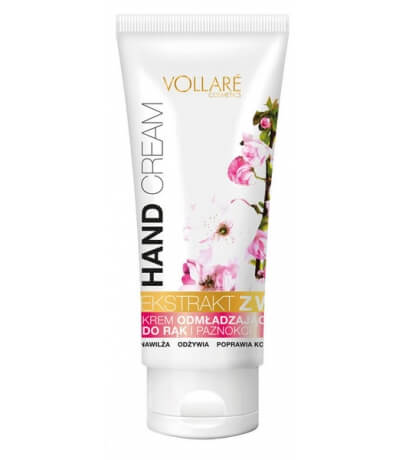 REJUVENATING HAND CREAM WITH CHERRY EXTRACT VOLLARE